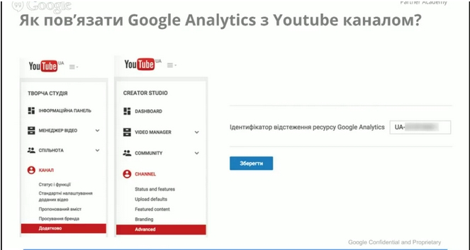 Как связать аккаунт AdWords с каналом YouTube