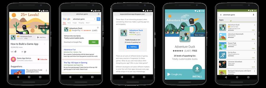 Реклама мобильных приложений на сайтах
