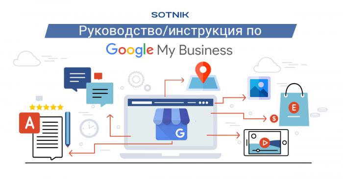 Руководство по Google My Business SOTNIK BLOG (изображение шапки)